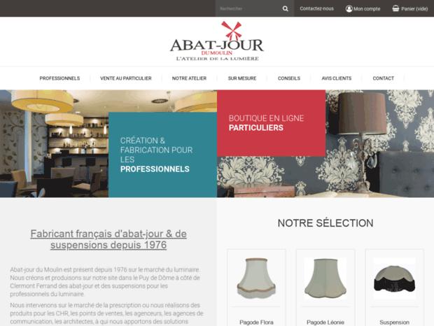 Bienvenue au abatjourshop.com page - Fabricant d\'abat jour et ...