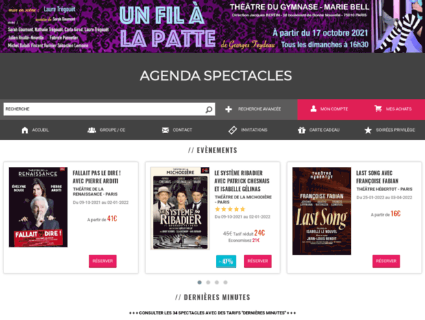 agendaspectacles.fr