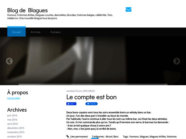 Bienvenue au blogdeblagues.hautetfort.com page - Blog de Blagues. Blog de Blagues