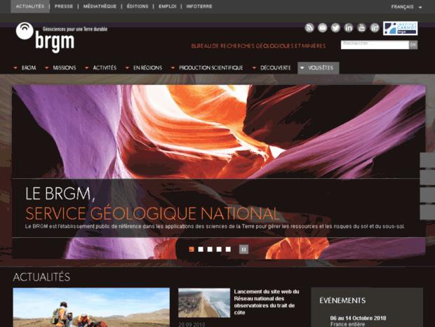 Bienvenue au brgm page brgm bureau de recherches