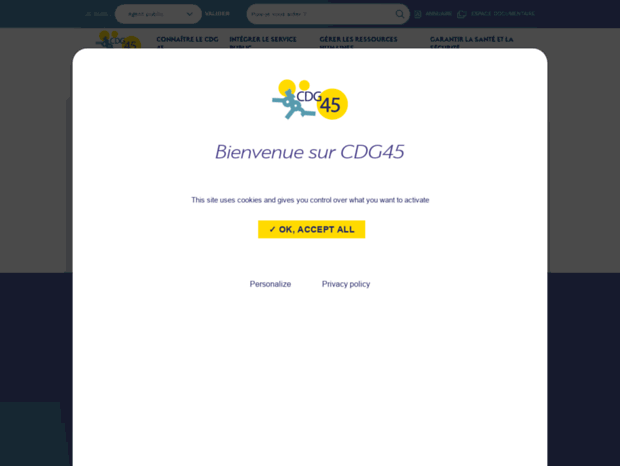977d6466874 Accueil - Centre de gestion de la fonction publique territoriale du Loiret