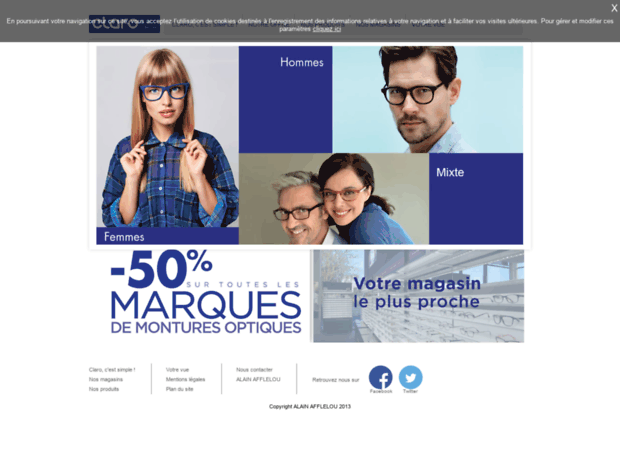 48deb41a72352a Bienvenue au claro-afflelou.fr page - Claro AFFLELOU - L opticien ...