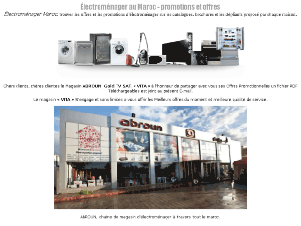 electromenager-maroc.hanzappliances.net