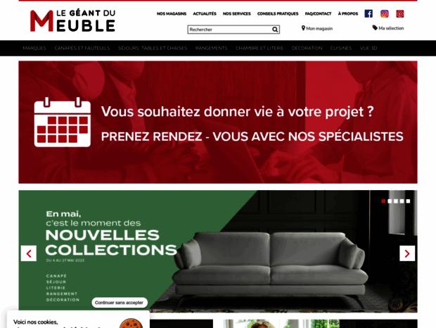 Bienvenue Au Geant Du Meuble Com Page Le Geant Du Meuble