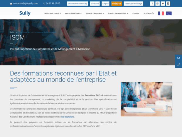 institut-superieur-sully.com