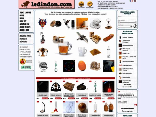 Ledindon Com bienvenue au ledindon page - idées de cadeaux originaux, objets
