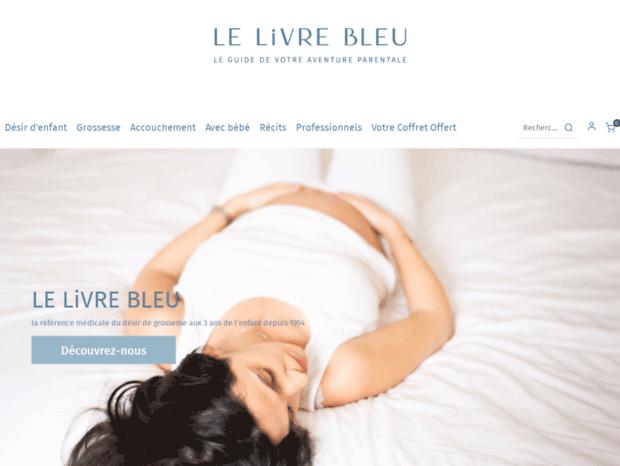 Bienvenue Au Lelivrebleu Fr Page Le Livre Bleu Le Livre
