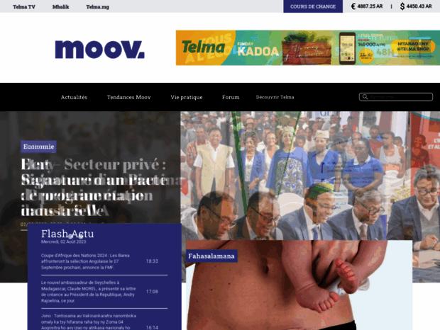 Bienvenue Au Moovmg Page