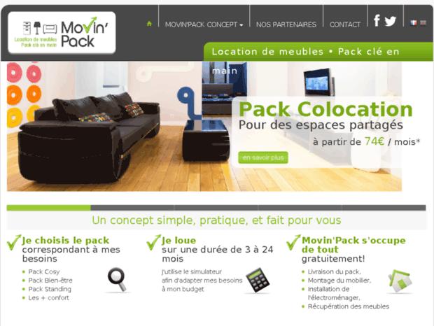 Bienvenue Au Movinpack Fr Page Location Meubles Electromenager Pack Cle En Main Movin Pack France Suisse
