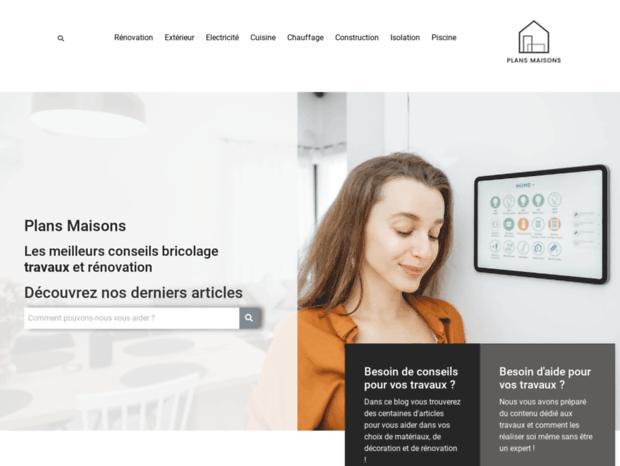 Bienvenue Au Plans Maisons Com Page Plan Construction Maison Construire Avec Un Plan Architecte