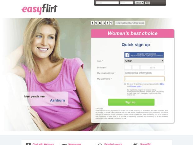 easy flirt chat
