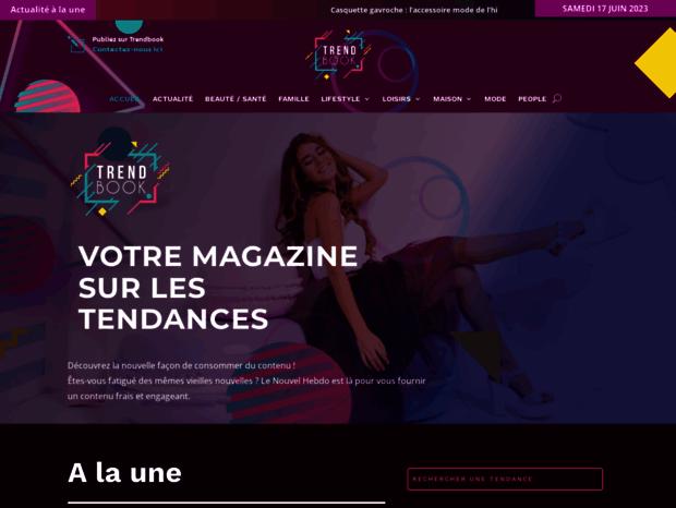 73a2a171fe3f2 Bienvenue au trendbook.fr page - Trendbook  .