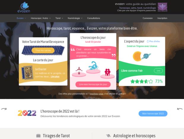 Véritable Tarot de Marseille Gratuit - Horoscope   Voyance   Evozen fc7385576974