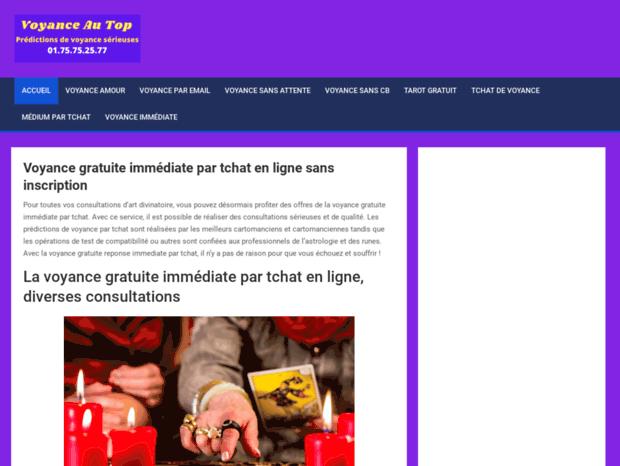 d97b6e5a76ad31 Bienvenue au voyance-au-top.com page - Voyance gratuite immediate ...