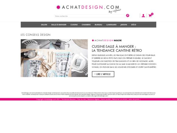 Bienvenue au achatdesign.com page - Meuble design - Mobilier ...