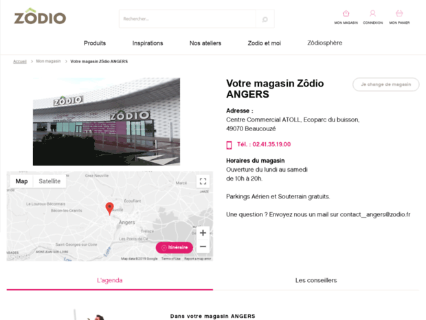 Bienvenue Au Angers Zodio Fr Page Ze Fabrik Herblay Espace