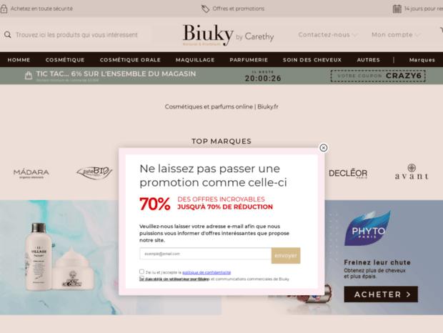 Au Parfums Cosmétiques Bienvenue Page OnlineBiuky Et 0OPX8nkw