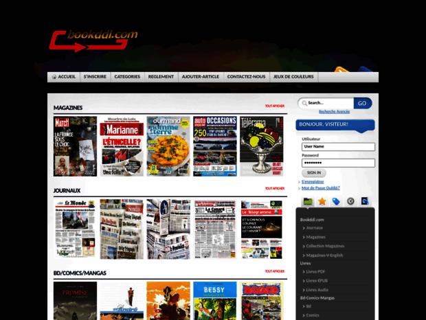 Bienvenue Au Bookddl Com Page Telecharger Journal Magazine