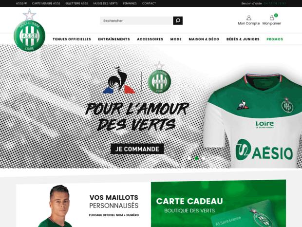 580657542724 Bienvenue au boutique.asse.fr page - Boutique officielle ASSE - AS ...