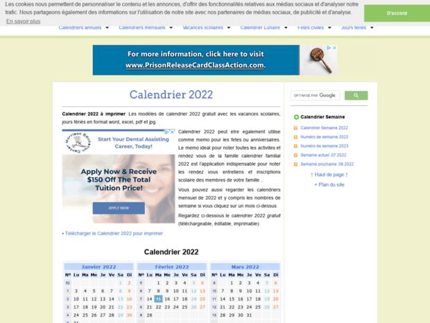 Bienvenue au calendriervip.fr page   Calendrier 2018 à imprimer
