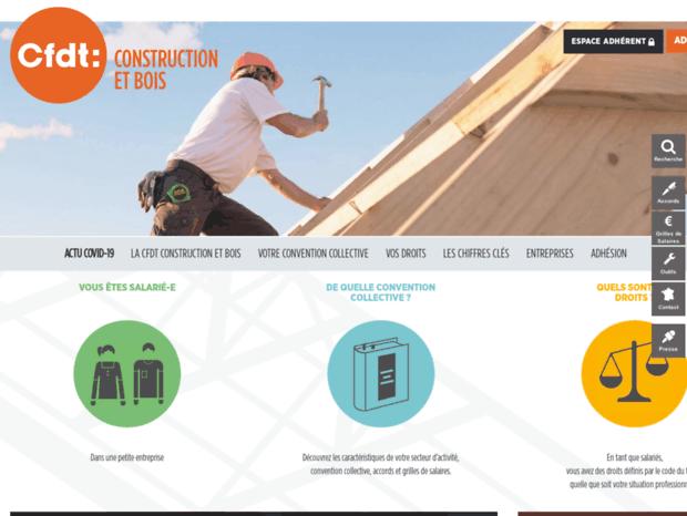construction bois cfdt