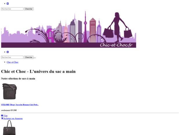 6c5e7bb4cd Bienvenue au chic-et-choc.fr page - Chic et Choc - L'univers du sac ...