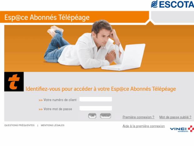 images officielles bébé large éventail Bienvenue au client-escota.com page - Espace Abonnés VINCI ...