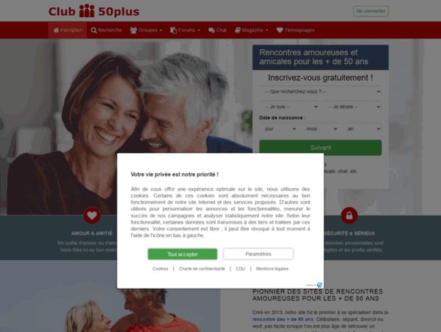 Sites de rencontre plus de 50 ans : gratuits, sérieux, meilleur