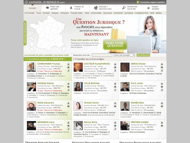 f2e2cdb051f Bienvenue au conseil-juridique.net page - Conseil juridique ...