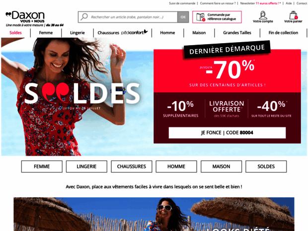 Bienvenue Au Daxon Fr Page Mode Femme Homme Grande