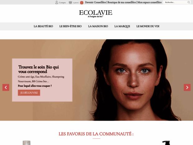 ef8645193b9 ECOLAVIE   vente à domicile cosmetique bio-vdi cosmetique-vdi-produits bio- vdi p.