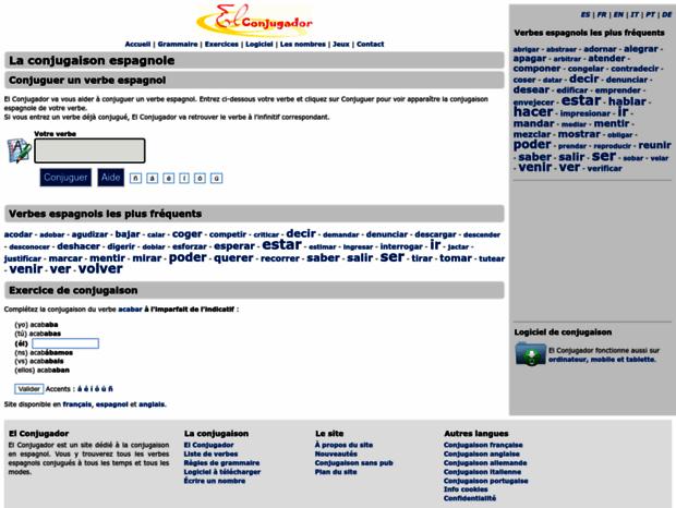 Haber Conjugaison El Conjugador Verb Conjugator Grammaire Espagnole Espagnol