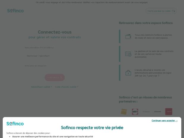 sofinco compte client