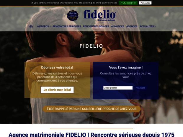 agence de rencontre fidelio site de rencontre casablanca