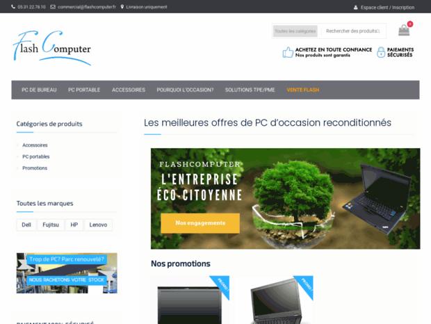 Bienvenue au flashcomputer.fr page - Les meilleures offres de PC d ... 9cc644036ff