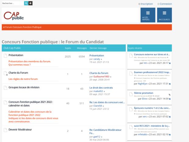 e48a683ed1e Bienvenue au forum-concours.cap-public.fr page - Le Forum du ...
