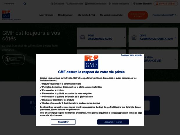 Bienvenue au gmf.fr page - GMF.fr   assurance auto, habitation santé ... 56db16e613aa