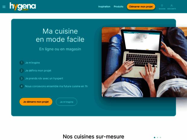 Bienvenue Au Hygena Fr Page Cuisines Equipees Hygena
