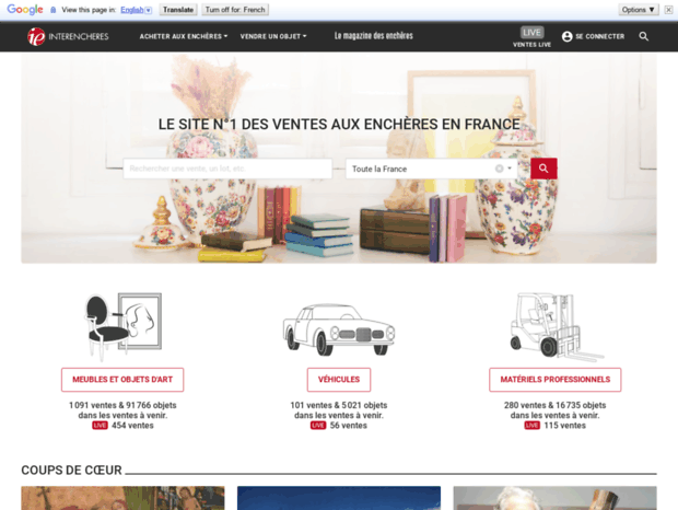 Calendrier Interencheres.Bienvenue Au Interencheres Com Page Interencheres Les