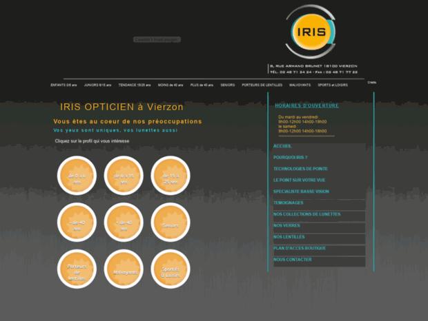 21bb40ad19bca2 Bienvenue au iris-opticien.com page - Opticien Iris Vierzon ...