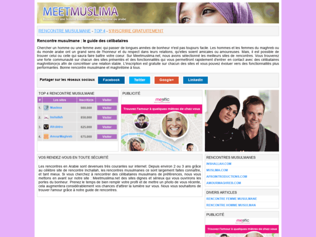 Muslima rencontres