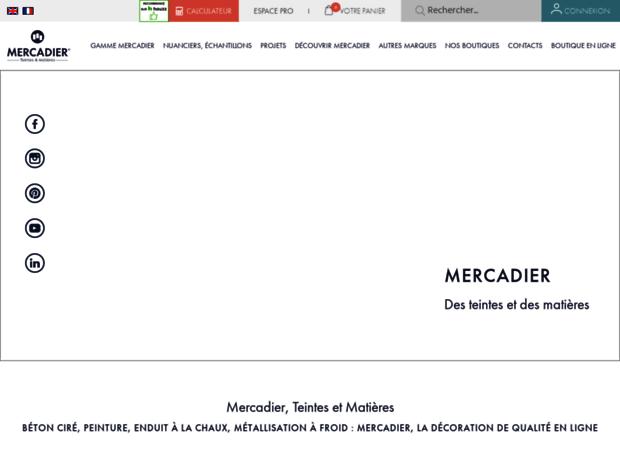 Bienvenue au mercadier.fr page - Spécialiste Béton Ciré Peinture ...