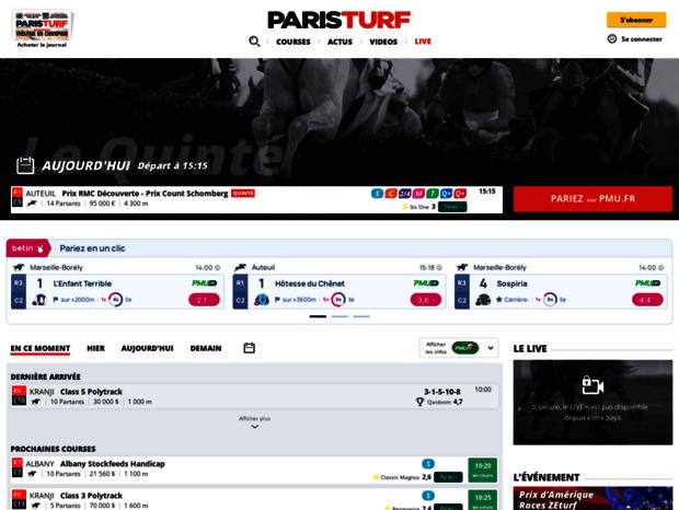 Mobile Paris Turf