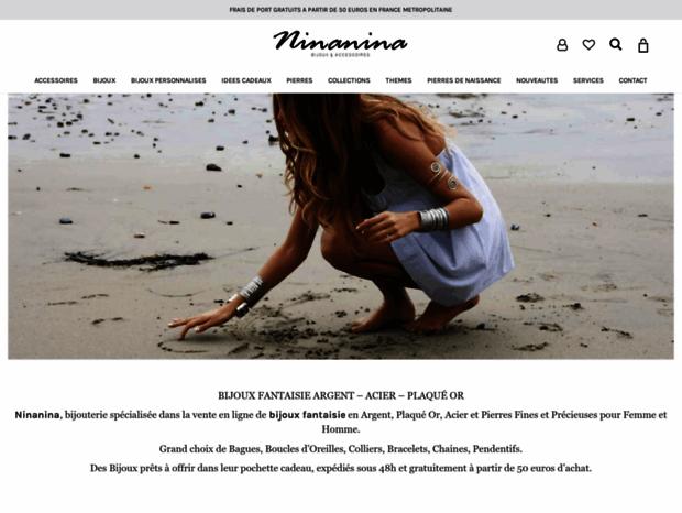 ce3dcdeeebb9d Bienvenue au ninanina.fr page - Bijoux en ligne homme, bijou femme ...