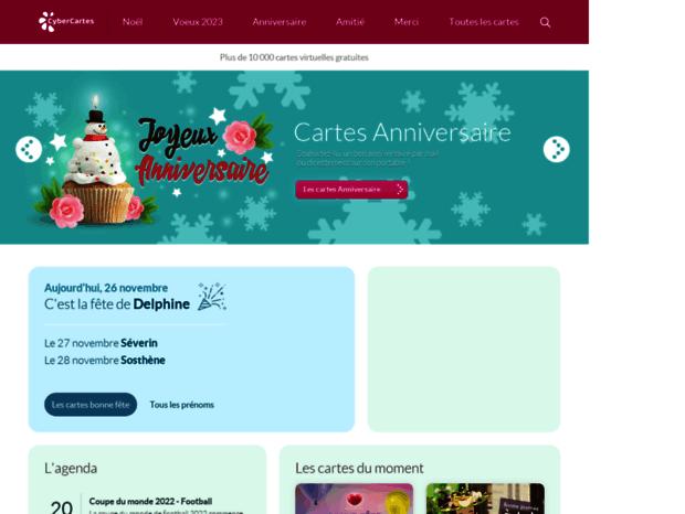Bienvenue Au Nl Cybercartes Com Page Cartes Anniversaire Et Cartes De Voeux 2021 12000 Cartes Virtuelles Gratuite