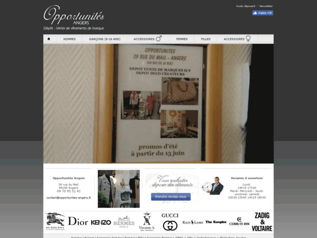 Bienvenue au opportunites-angers.fr page - Opportunités - Angers ... 7884e469169