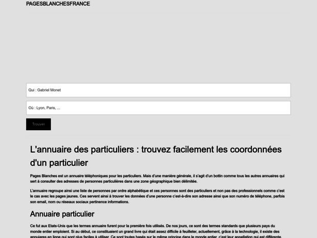 annuaire france telecom pagesblanches