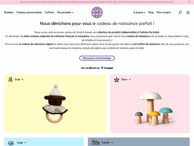 Bienvenue Au Paquet Calin Com Page Cadeau De Naissance Original