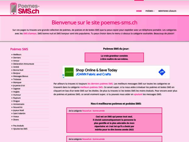 Bienvenue Au Poemes Smsch Page Poèmes Sms Poésies Et