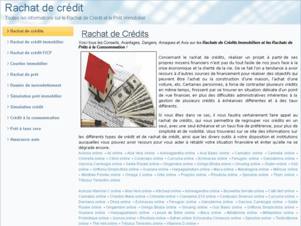 Bienvenue Au Rachat De Credit De Page Rachat De Credit